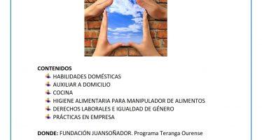 Curso empleo en el hogar en Ourense