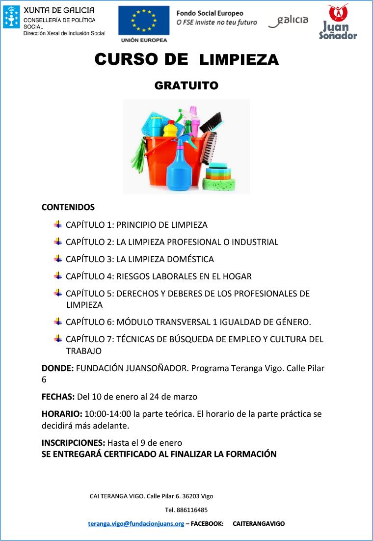 Cartel Limpieza Otro Sitio Más De Fundación Juan Soñador
