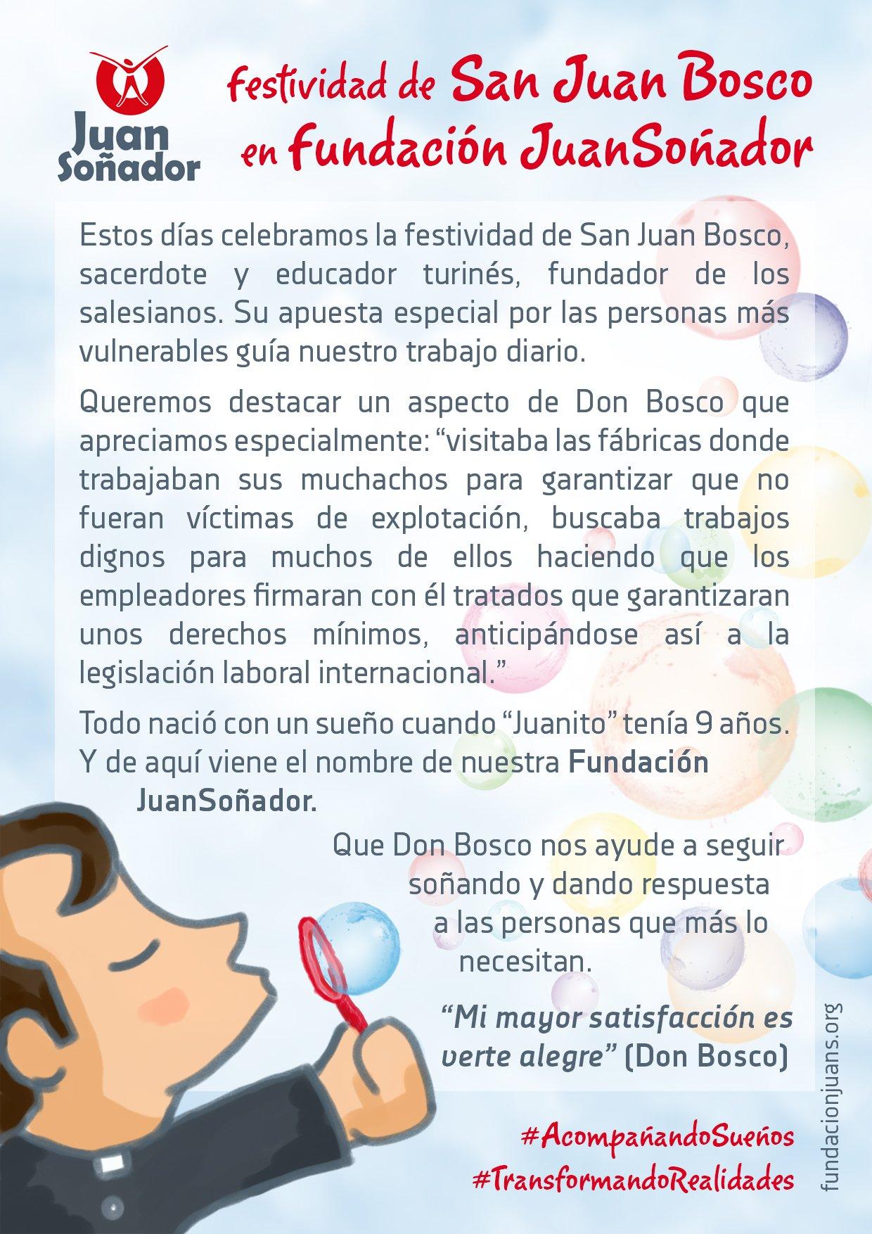 Fiesta De Don Bosco Juansoñador Es Una Iniciativa Social De La Familia Salesiana En Su Afán De Dar Respuestas Sociales Y Educativas A Colectivos Que Se Encuentran En Situación De Riesgo