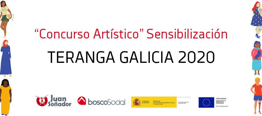 """""""Concurso artístico"""" Sensibilización Teranga Galicia"""