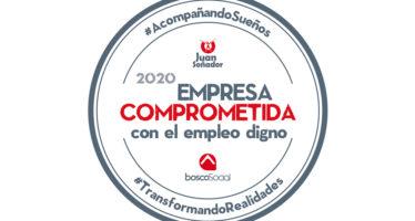Reconocimiento Empresas Comprometidas con el Empleo Digno 2020