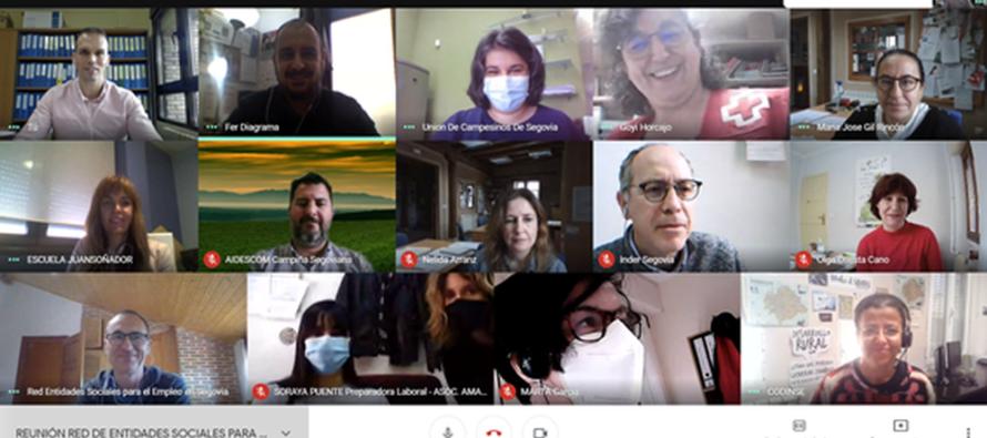Nace la Red de Entidades Sociales para el Empleo en Segovia con el compromiso de combatir la exclusión social