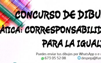 Concurso de dibujo: Corresponsabilidad para la igualdad (Valladolid)